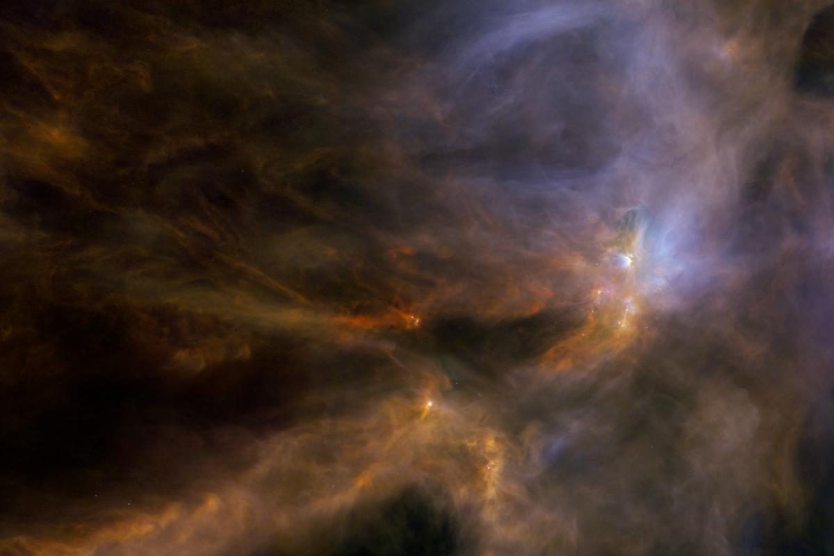 Molecules once thought to be biomarkers for life have been detected around a young star in the Rho Opiuchi star-forming region of space