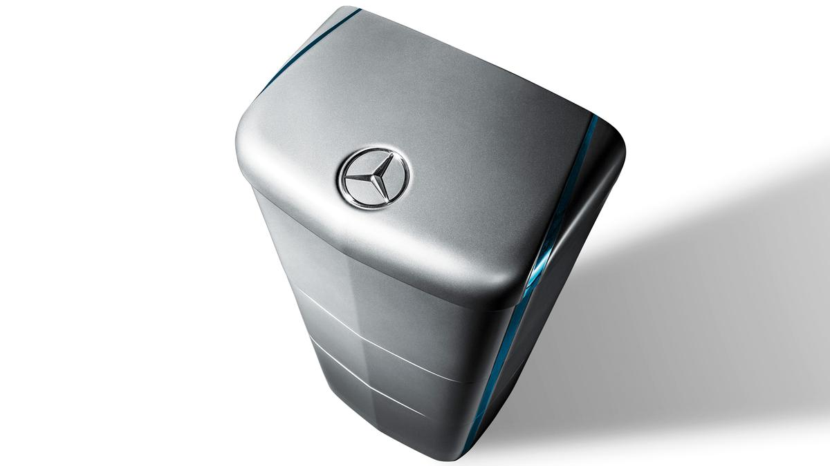 Mercedes-Benz energy storage modules will be available in a home-use model, and a higher-capacity version for businesses
