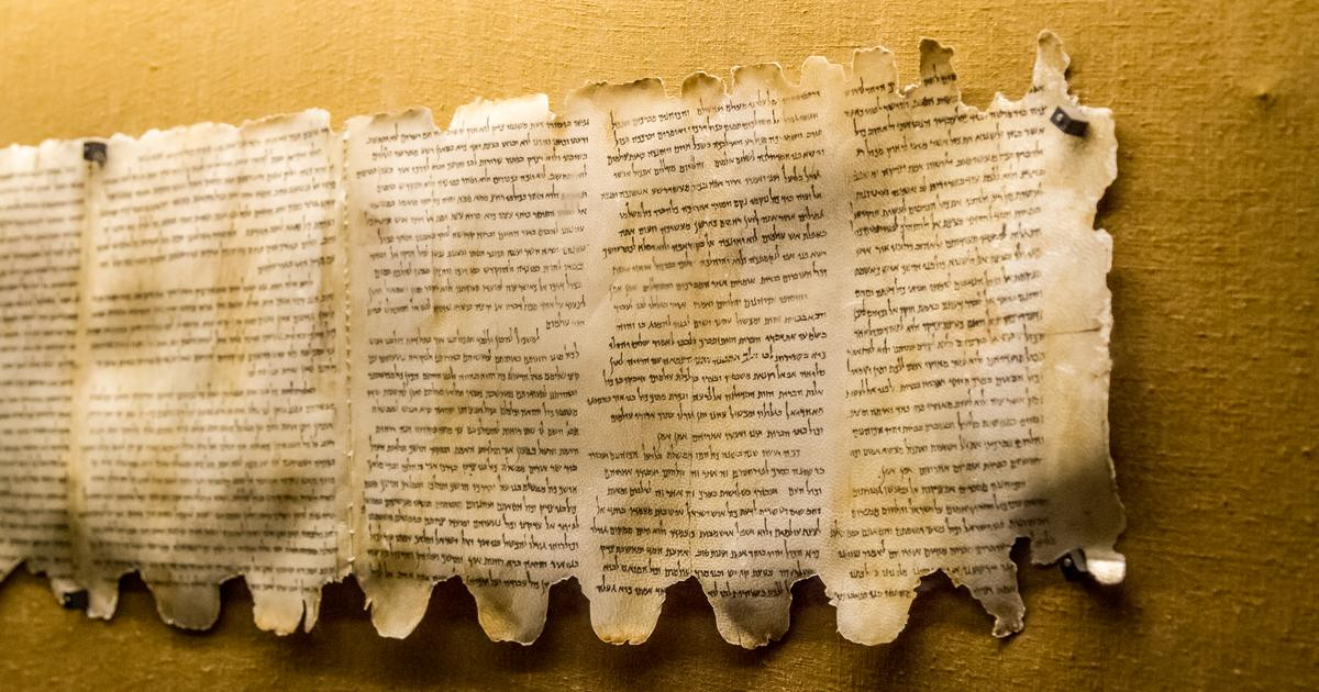 Dead Sea Scrolls discovered by AI