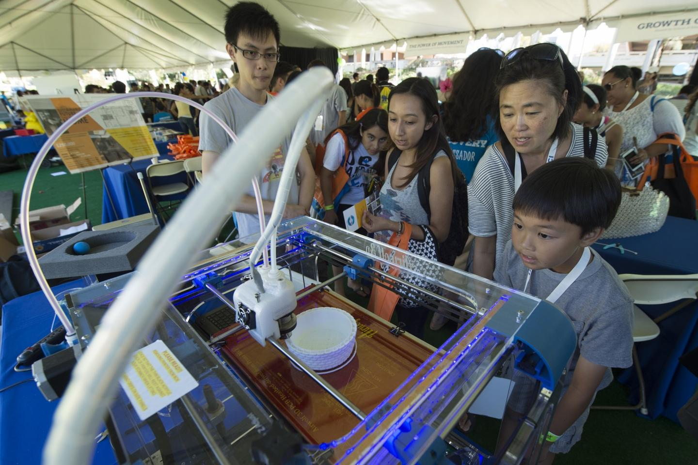 The sounds of a 3D printer may present opportunities for intellectual property theft