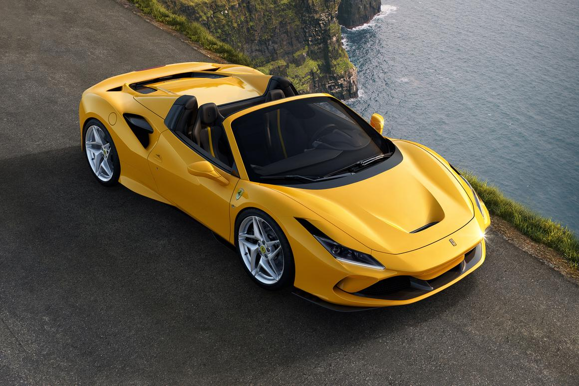 Ferrari has added a convertible Spider to its F8 range