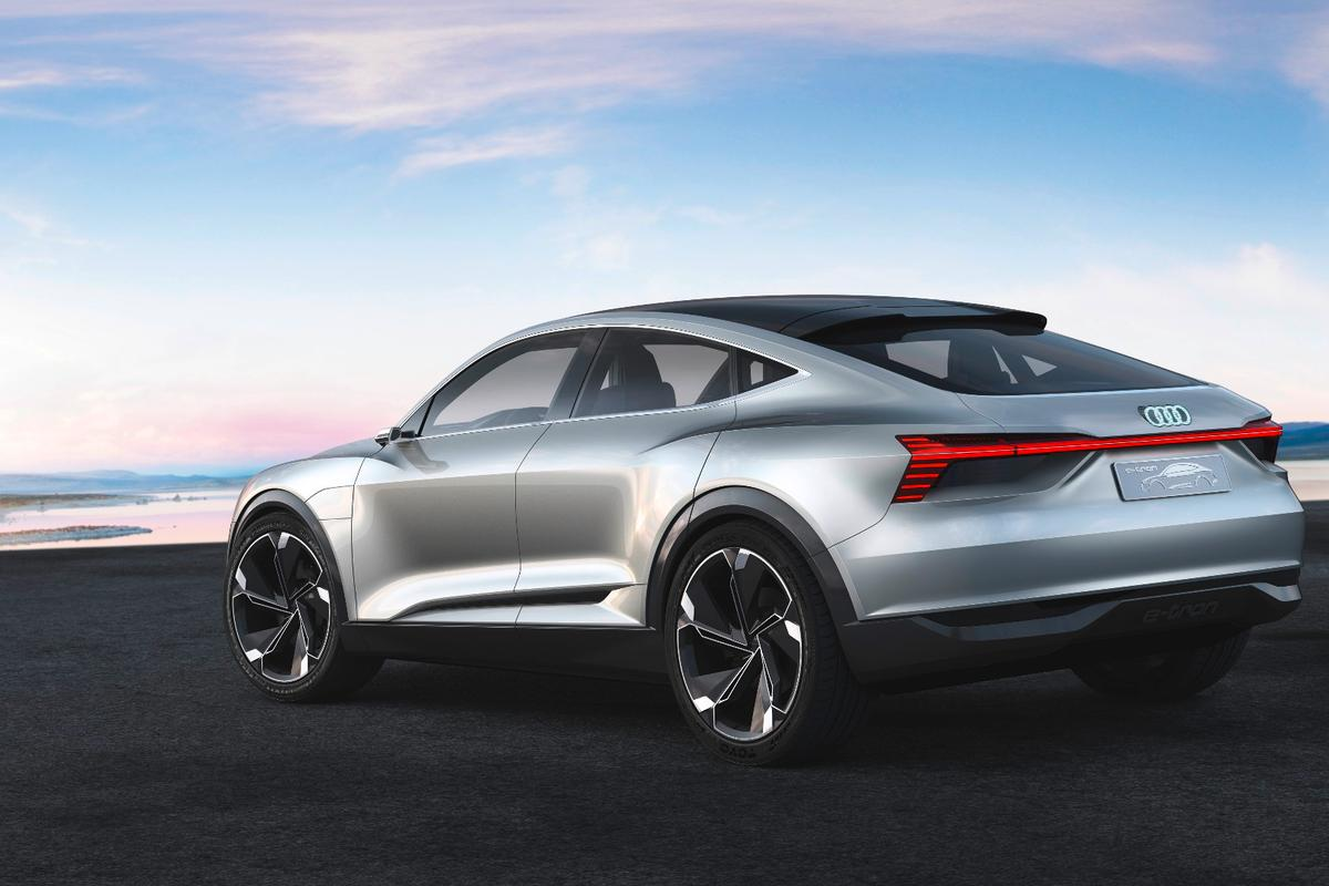 The Sportback's signature plunging roofline gives it a sportier, coupe-inspired look