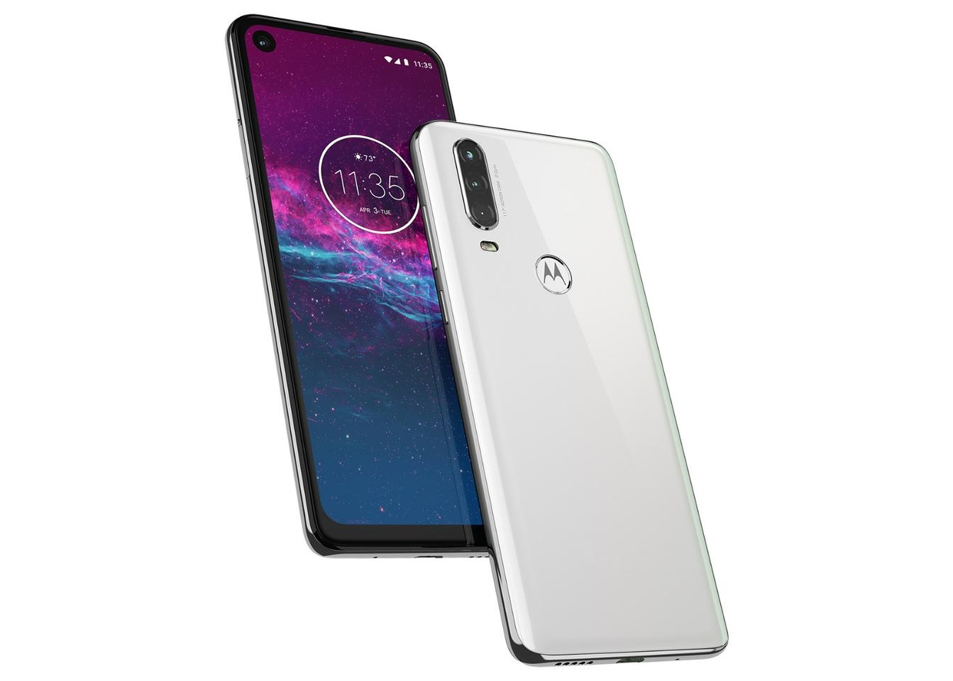 The Motorola One Action comes with a 6.3-inch, HDscreen