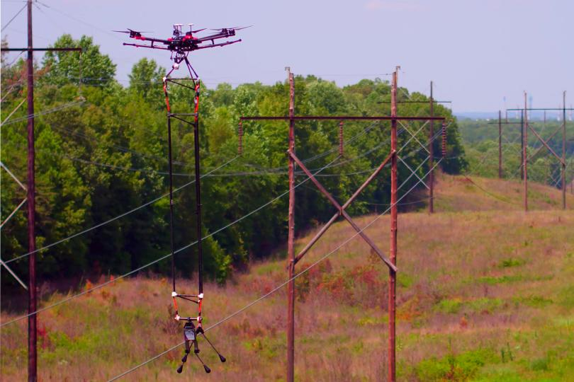 Linebird's Osprey NPS kit is designed for use with existing third-party drones