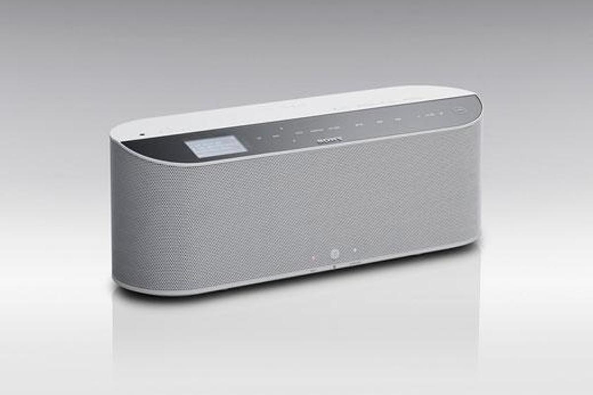 Sony's VAIO WA1 wireless boombox.