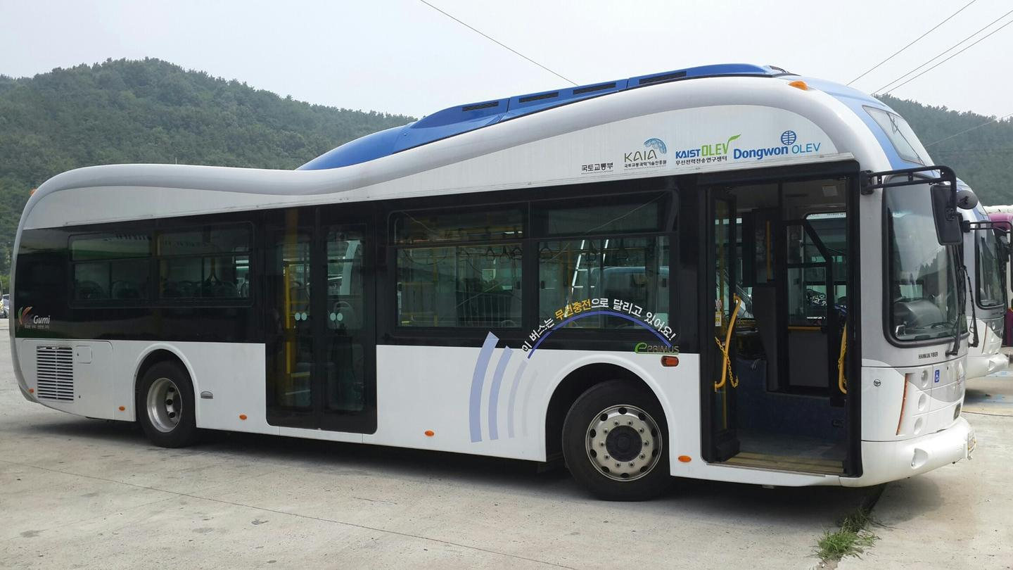 The buses will run a 24-km (15-mile) round trip route in Gumi's inner city between the train station and the In-dong district