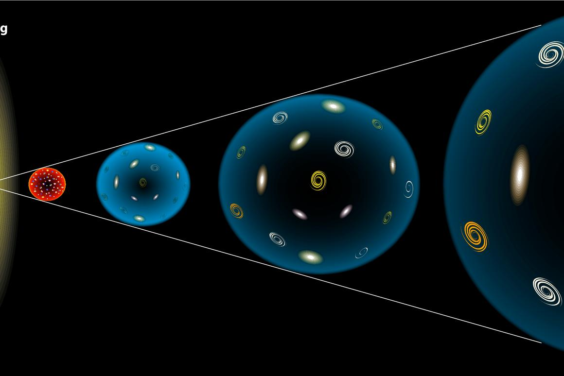 Is dark energy needed to accelerate the expansion of the universe? (Image: Shutterstock)