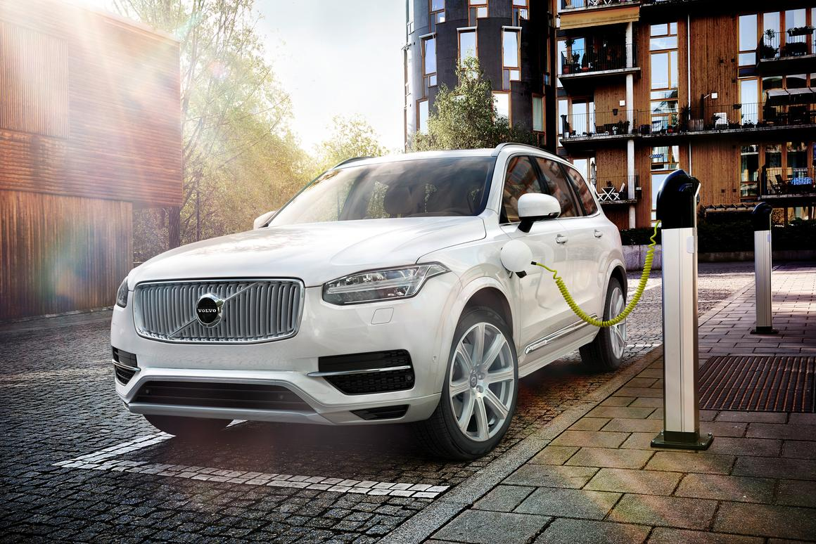 Volvo claims the new XC90 can run for 40 km in electric only mode