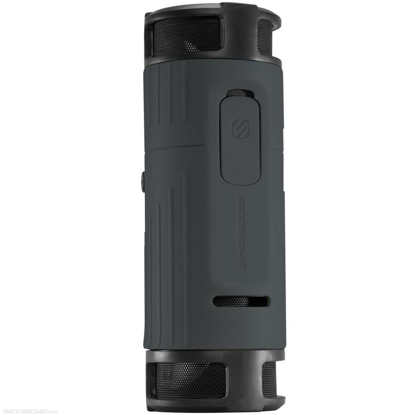 boomBOTTLE sports enough onboard battery power for up to ten hours of continuous playback