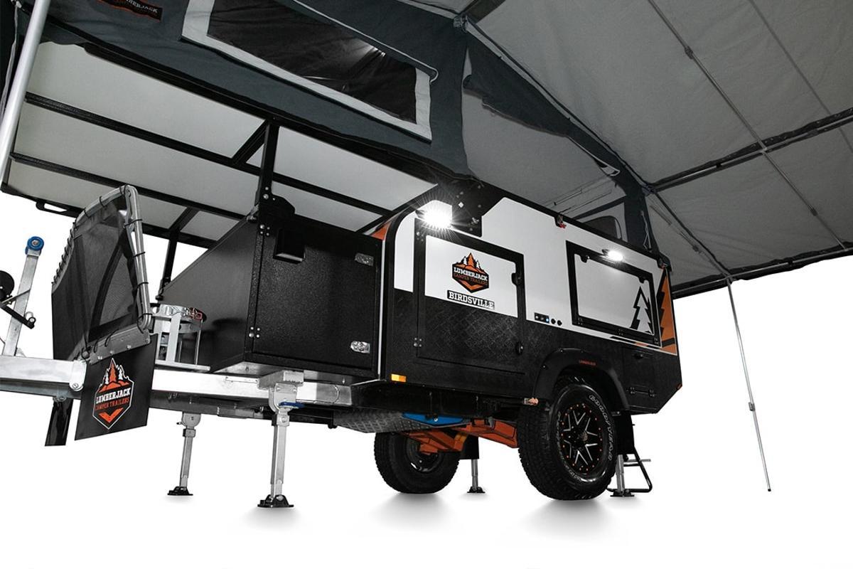 Lumberjack Birdsville camper trailer