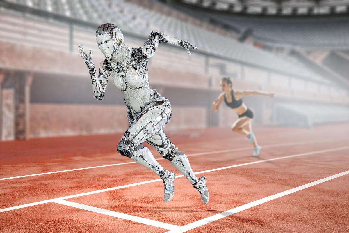 Genetic manipulation, human augmentation and direct brain stimulation could make for an interesting Olympics in 35 years' time