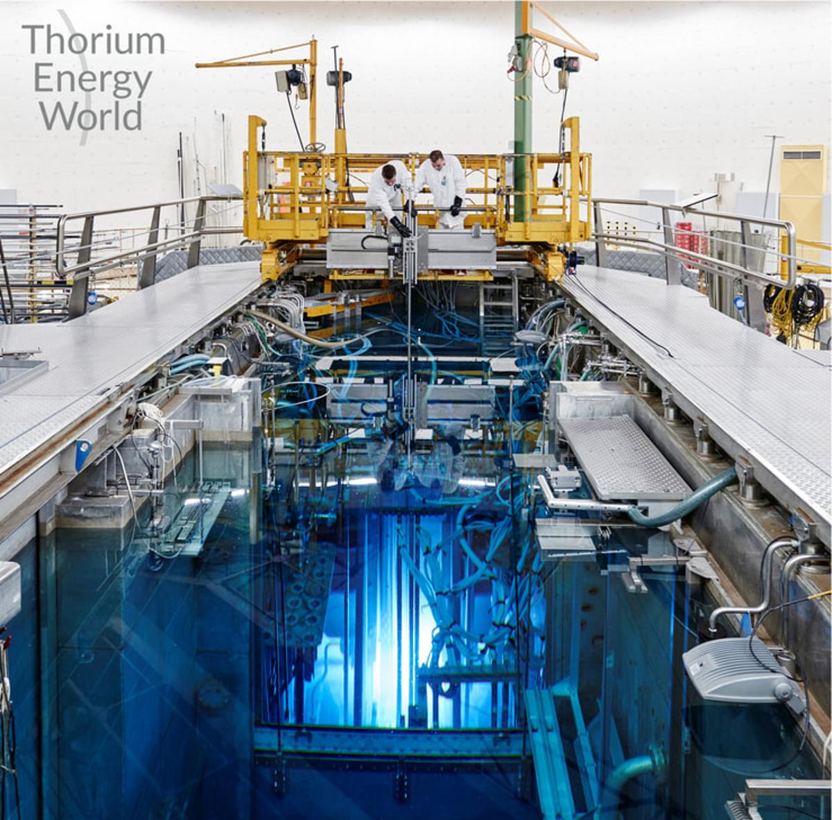 This is the first thorium salt experiment since the 1970s
