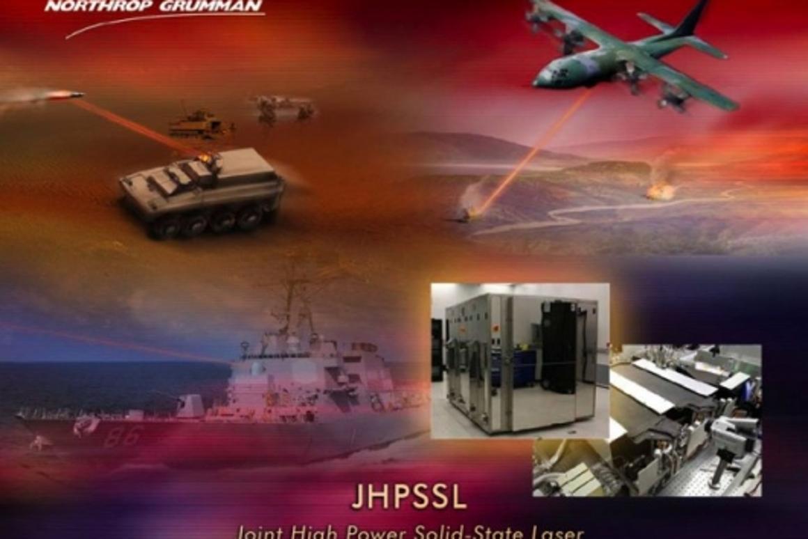 Northrop Grumman has produced a 105 kilowatt (kW) light ray from an electric laser