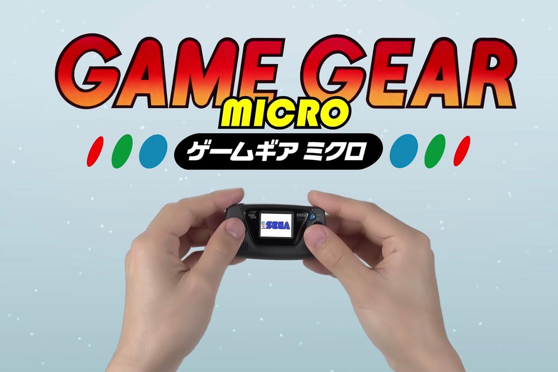 Sega has shrunk down the 1990 Game Gear
