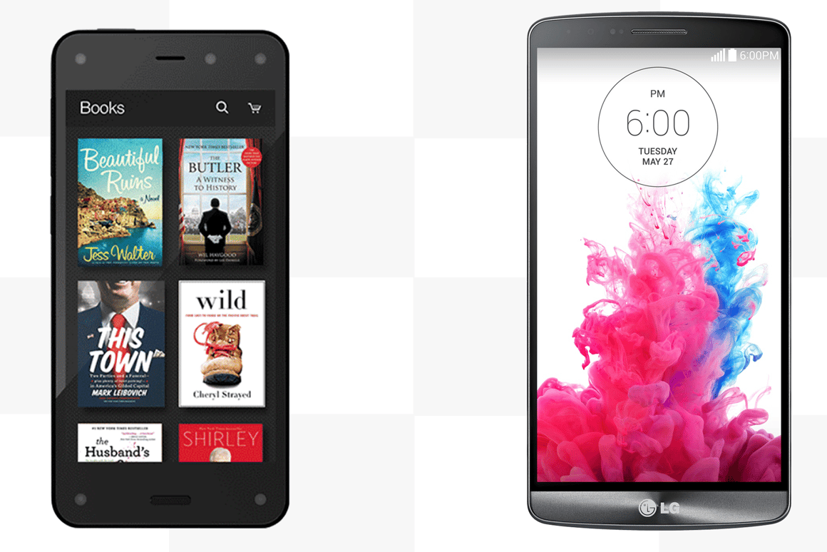 The Fire Phone is Amazon's first ever handset, but can it compete with the super high-end LG G3?