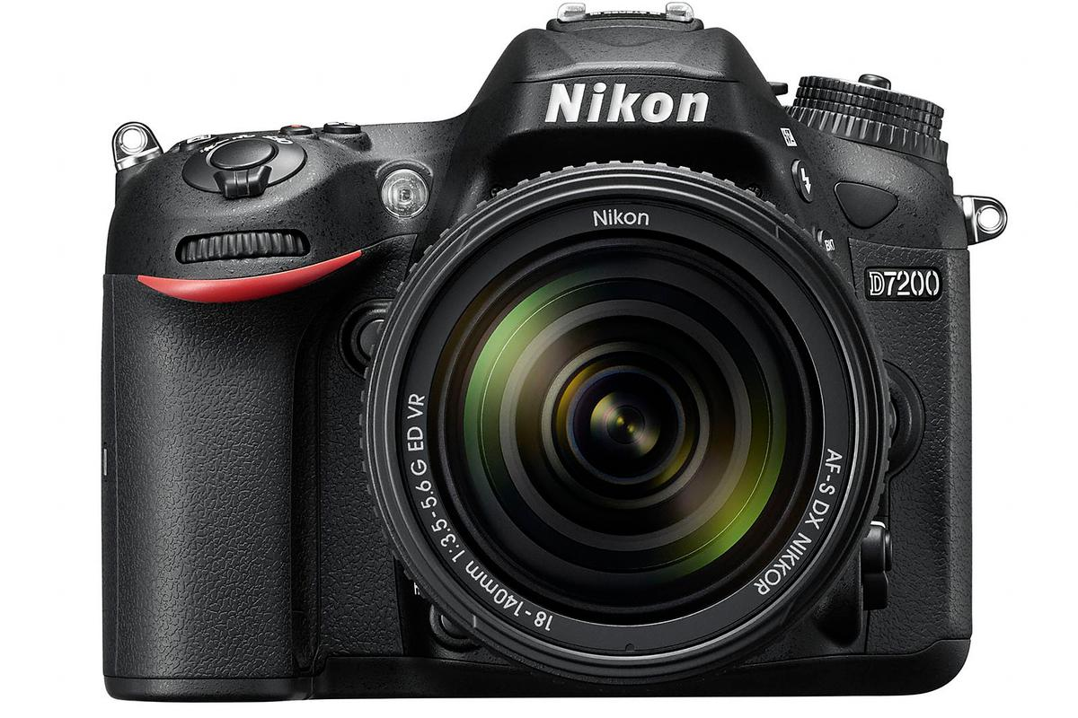 The Nikon D7200 features a bigger buffer, improved low-light performance and built-in Wi-Fi and NFC