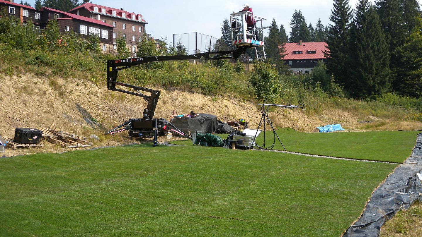 The ESA team used a HyPlant instrument – an airborne imaging spectrometer – attached to an aircraft to measure the florescence of two fields of turf, one of which had been treated with common herbicide (Photo: University of Milano-Bicocca)
