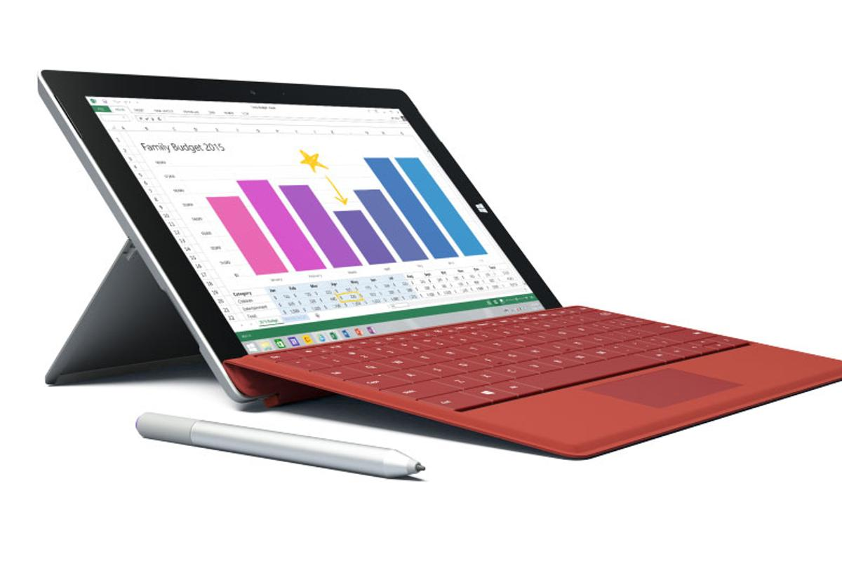 The Microsoft Surface 3 is a smaller (and scaled-back) variant of the Surface 3 that starts at US$500 – not including pen or keyboard