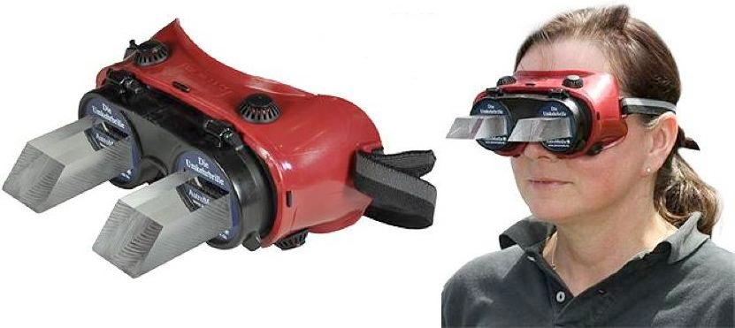 Reversing Goggles allow you to see the world upside-down or reversed left-to-right