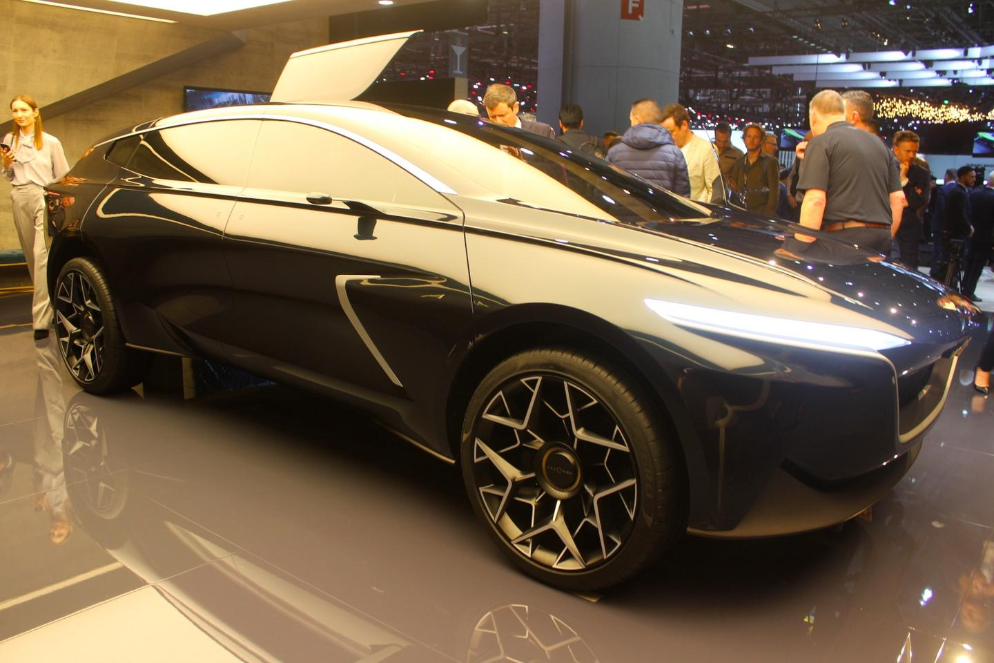 The Aston Martin Lagonda All-Terrain Concept hints at the design direction and capability expectations the British carmaker has for the production version of this luxury utility