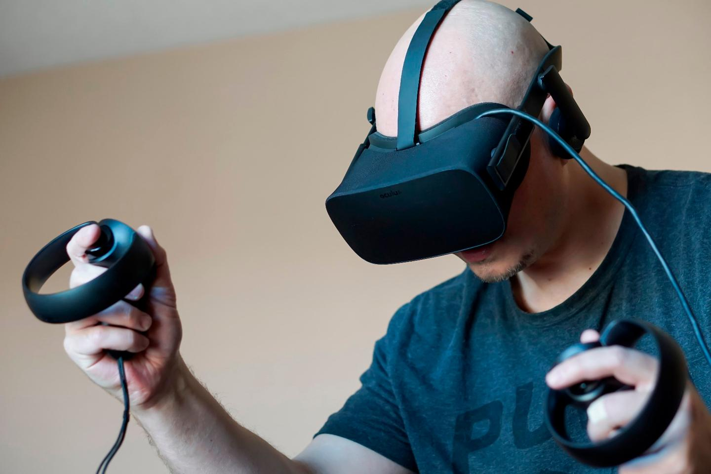 The result of adding Oculus Touch to the Rift? Highly immersive first-person experiences