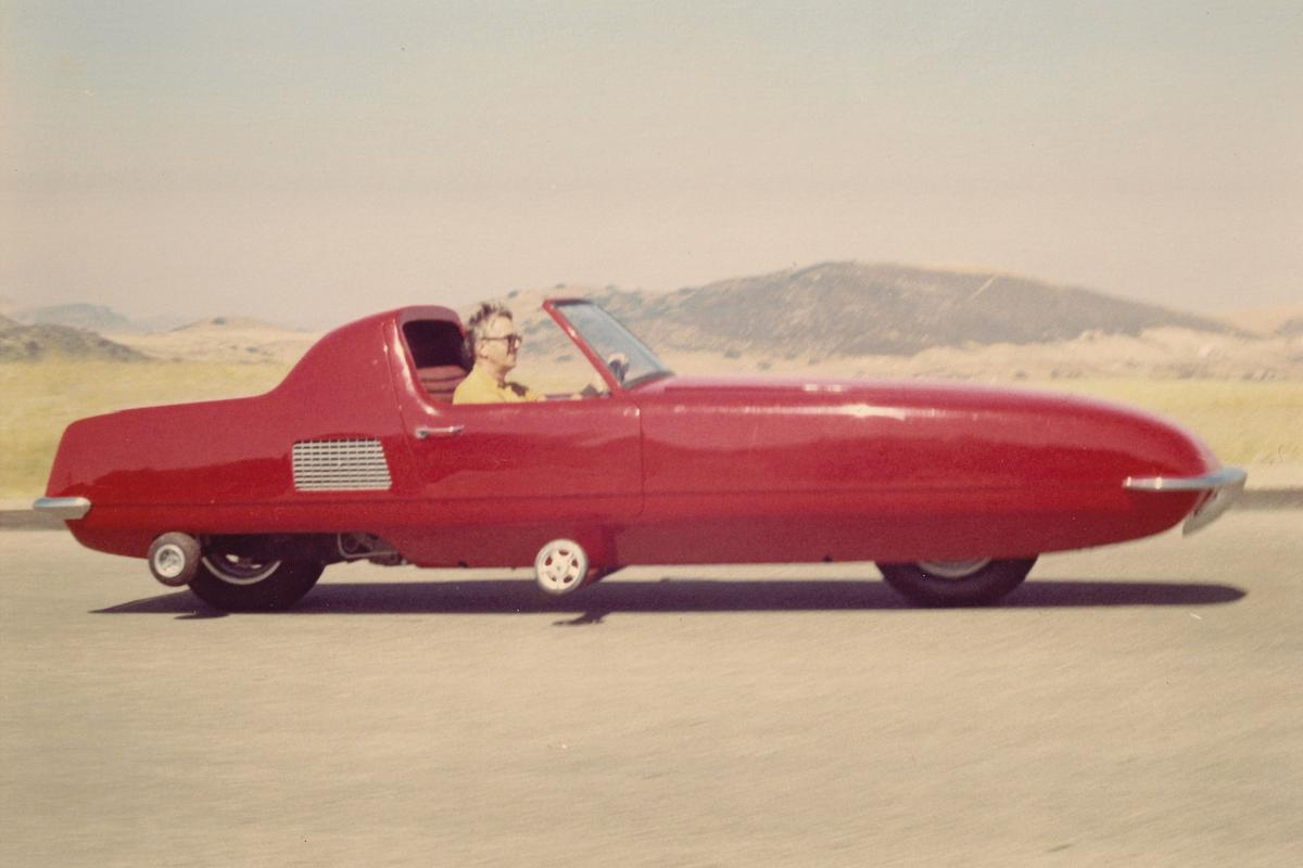 The 1967 gyroscopically-stabilized Gyro-X car is being restored by an auto museum