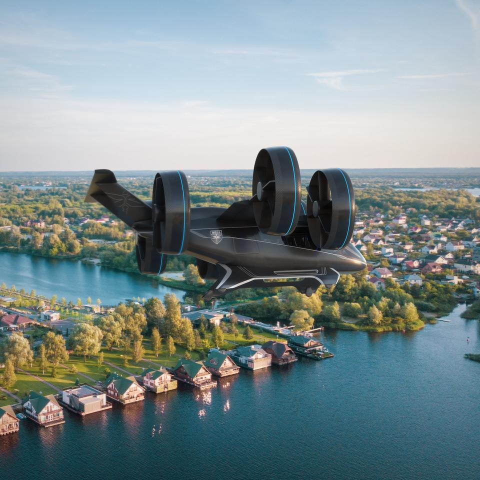 The flying taxi space is becoming pretty crowded with what you could call audacious vehicle concepts, and Bell has just dropped another one to coincide with CES in Las Vegas