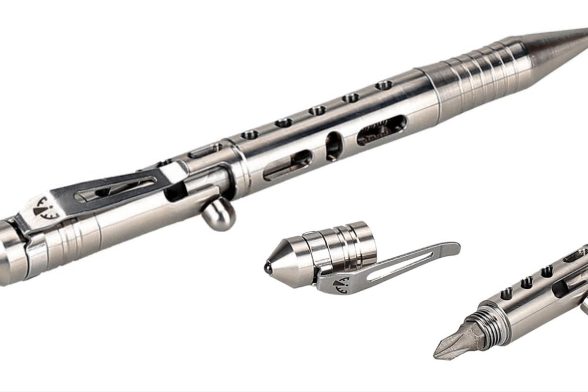 Zerohour's Apex Bolt tactical pen