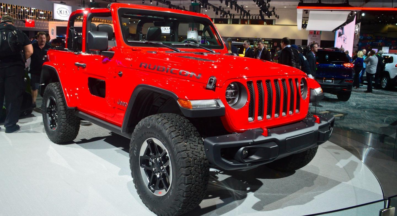 All New 2018 Jeep Wrangler Specs Released At La Auto Show