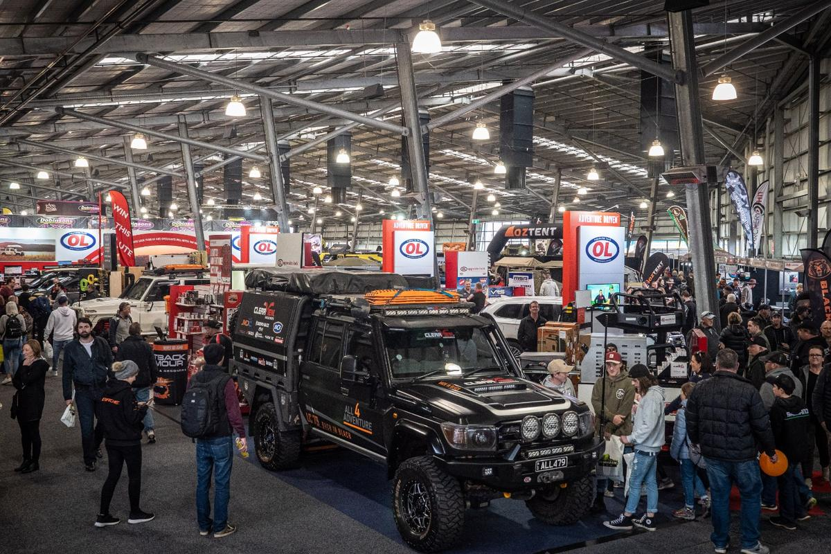 The best of Aussie off-road camping at the Australian National 4x4 Outdoor Expo