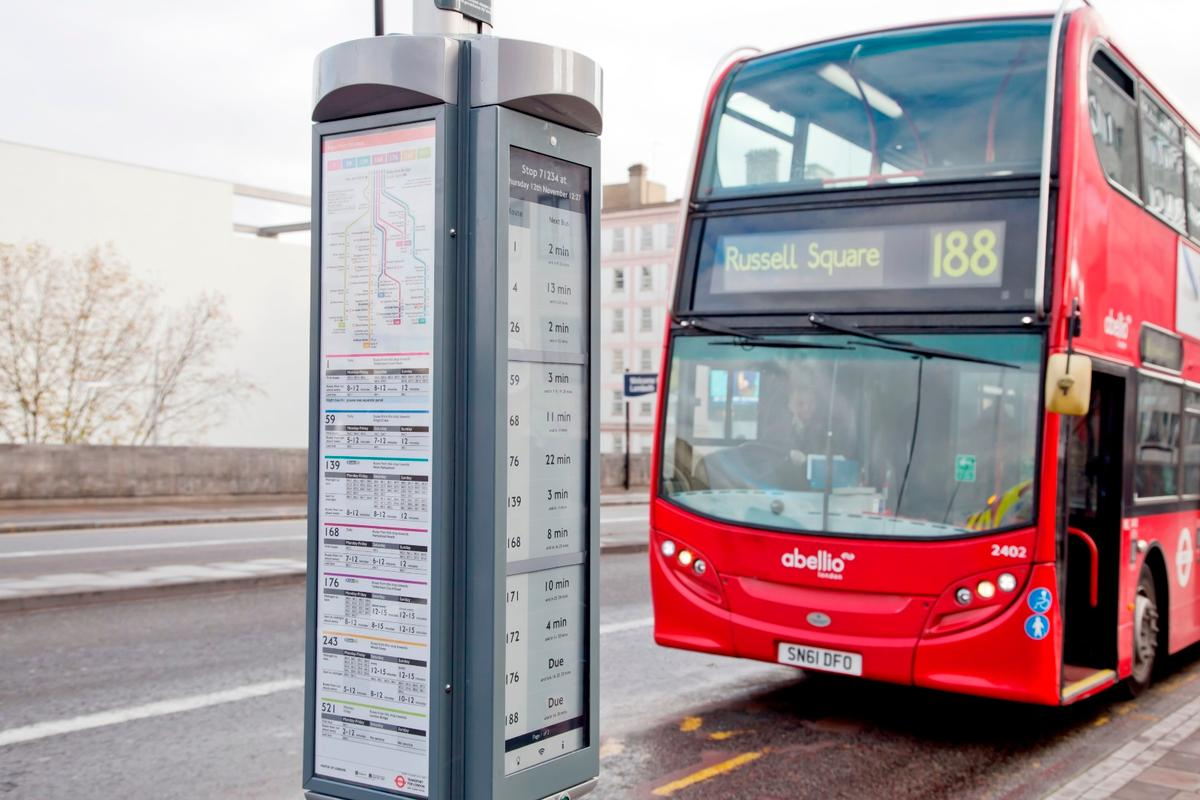 TfL believes the low-power, high-resolution screens will allow it to reduce energy consumption and installation costs