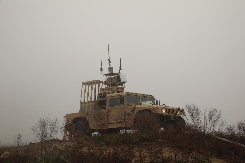MFP vehicle deploying an interceptor