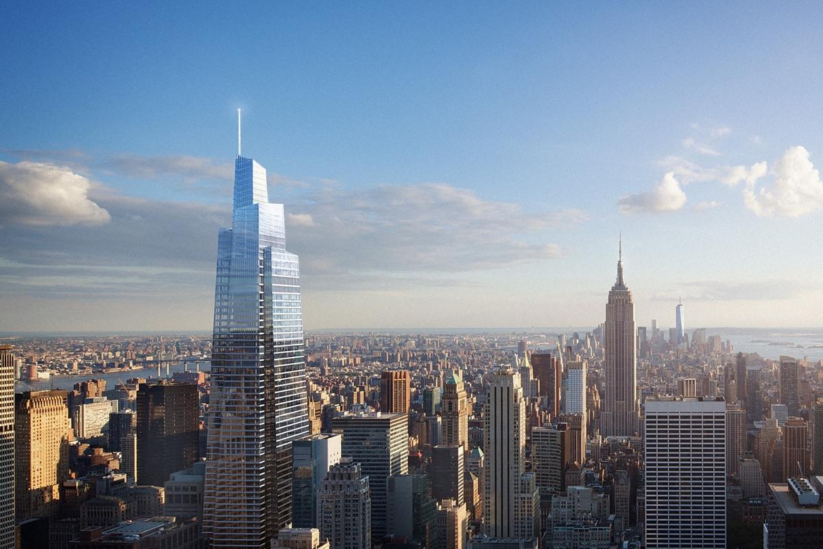 Construction of One Vanderbilt Avenue is expected to be completed sometime in 2020