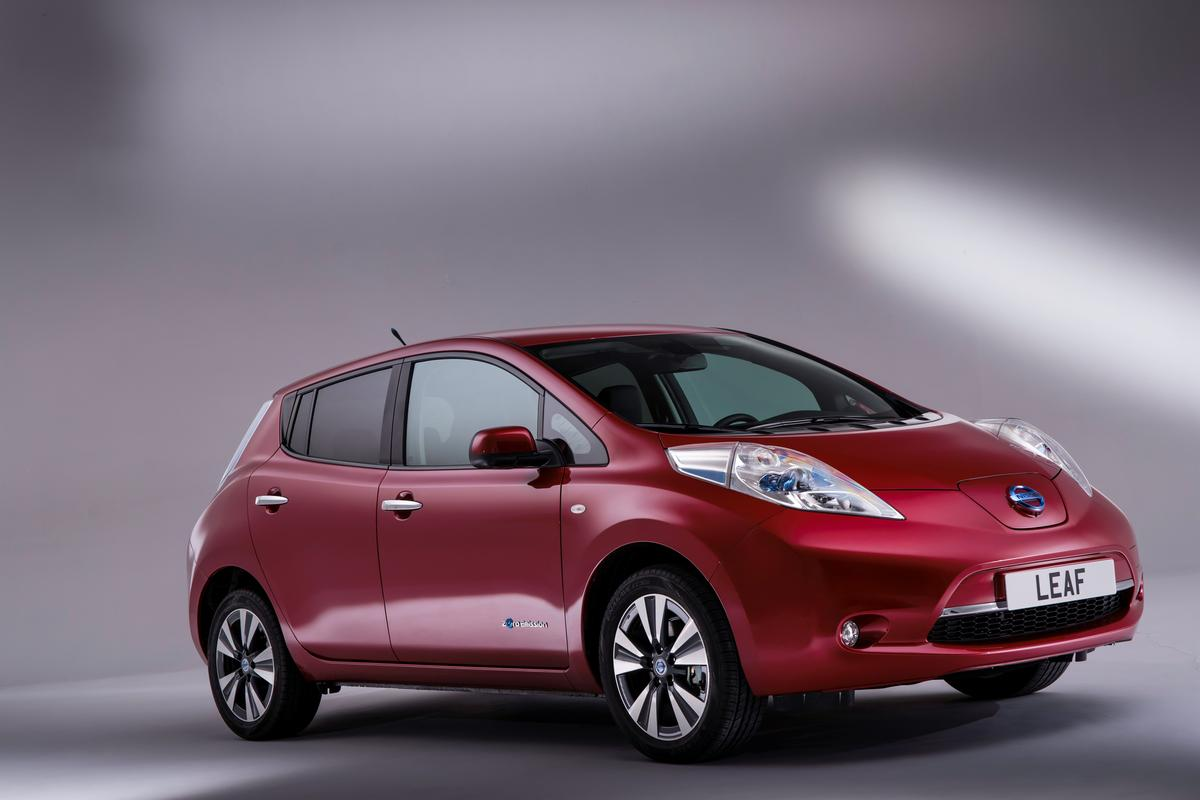 Nissan is about to showcase the new and improved LEAF