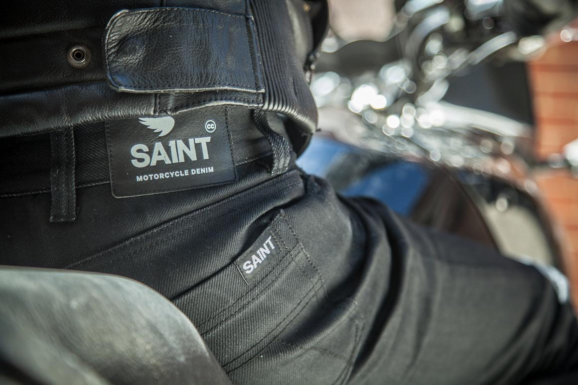 Saint Motorcycle jeans are up to 200 times stronger than regular denim