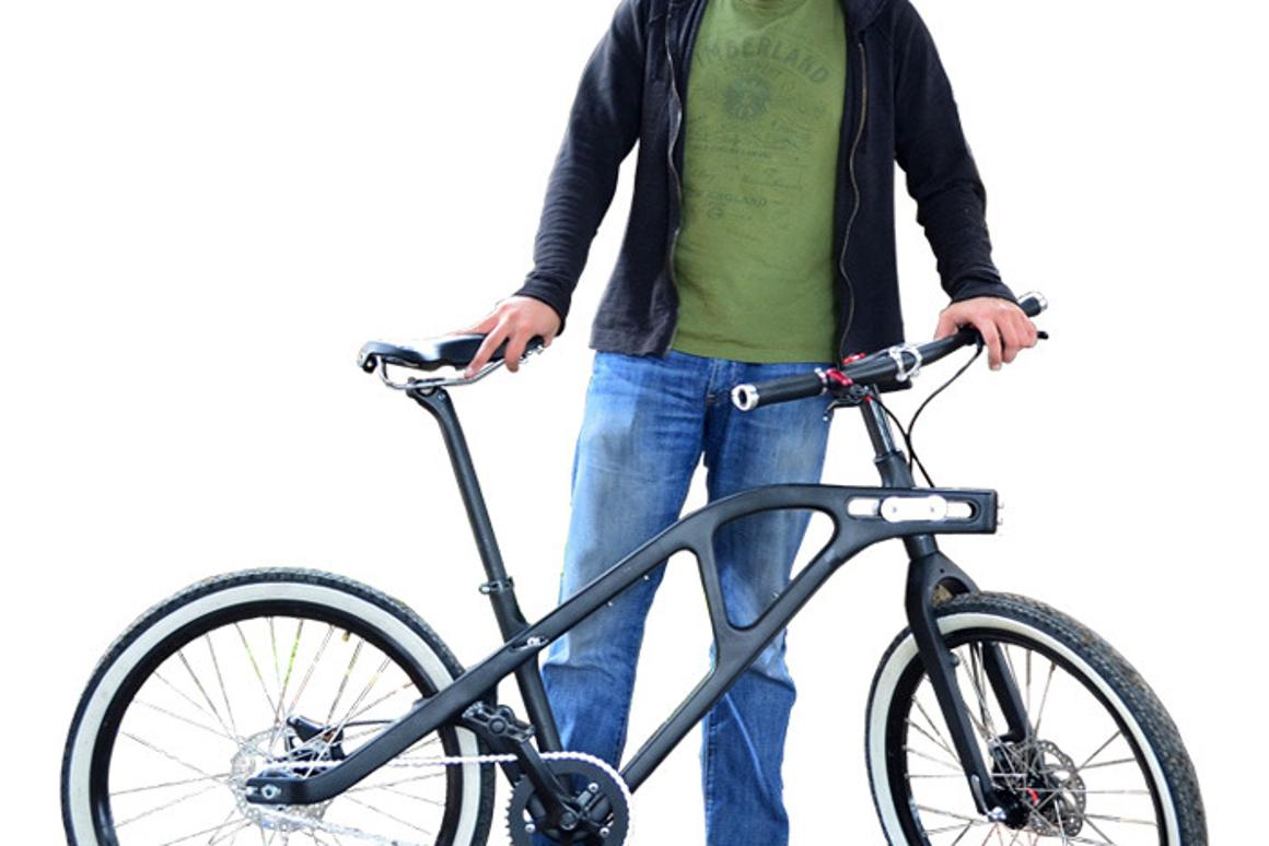 The Universal Bike's frame can reportedly be adjusted to fit a wide variety of riders and riding styles