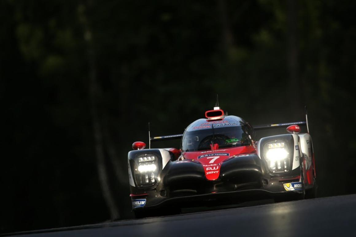 KamuiKobayashi has taken out the lap record at Circuit de la Sarthe.