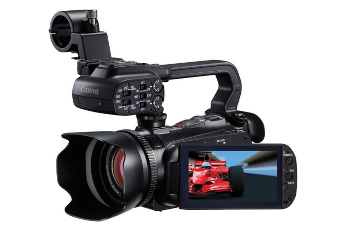 The Canon XA10 - canon's smallest ever pro-level camcorder