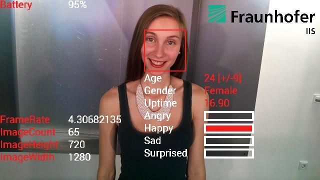 Facial recognition technology developed at the Fraunhofer Institute can detect human emotion (Photo: Fraunhofer Institute)