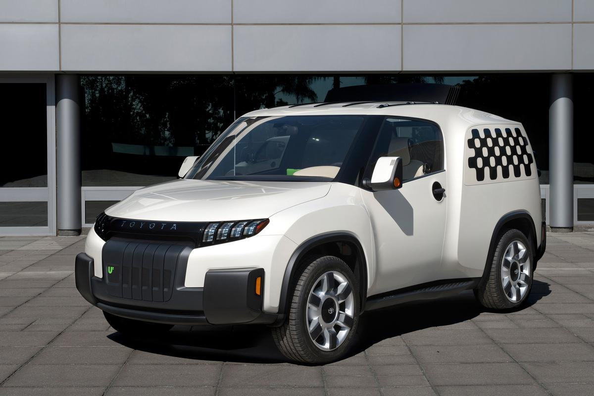 Toyota's new Maker-inspired U2 concept vehicle