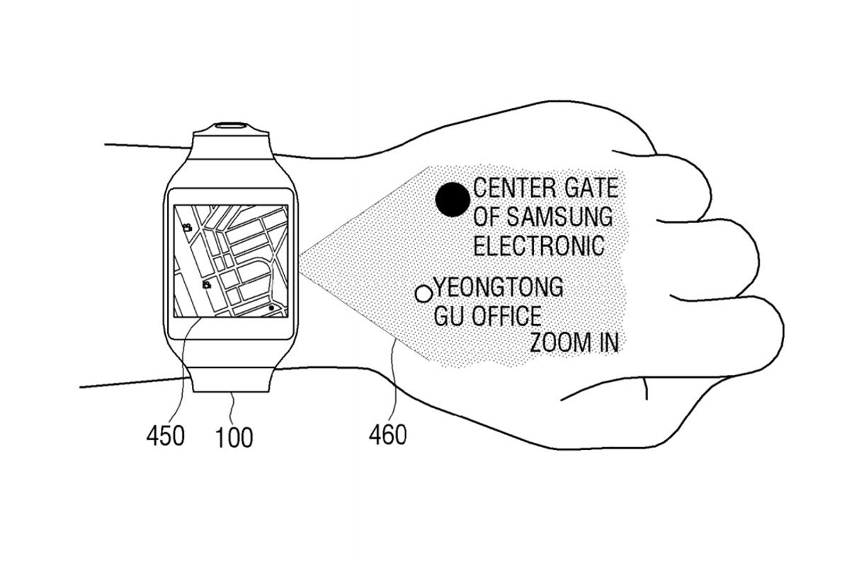 The technology could be used to augment applications, potentially improving the experience of using your smartwatch to navigate