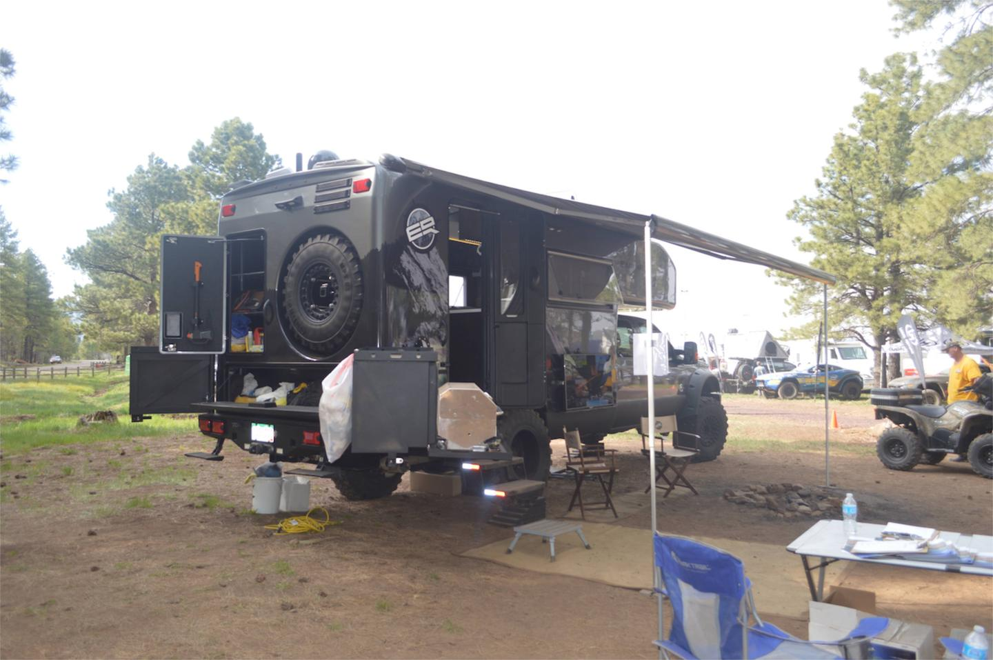 The EarthRoamer XV-LTS at Overland Expo 2014