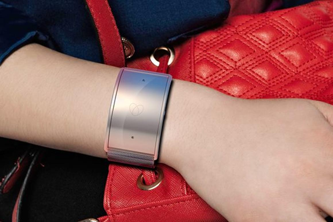 Safelet is designed to look like a normal bracelet, but it has the capacity to stop a violent attack