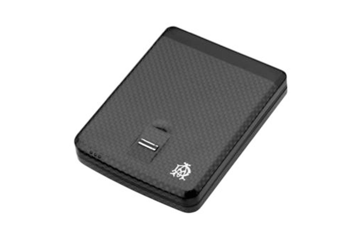 The Biometric Wallet, also sold as the iWallet, will only open with a touch of its owner's fingerprint