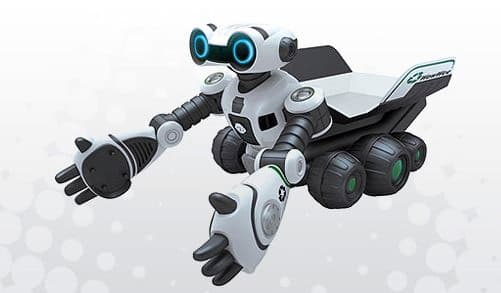 WowWee's object picking-and-toting Roboscoop robot