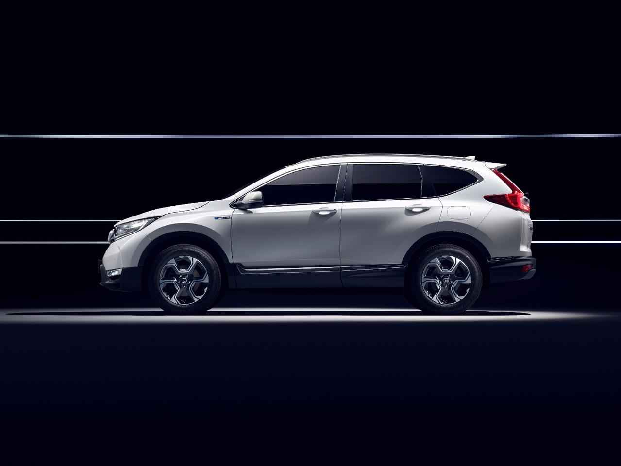 The new Honda CR-VHybrid prototype