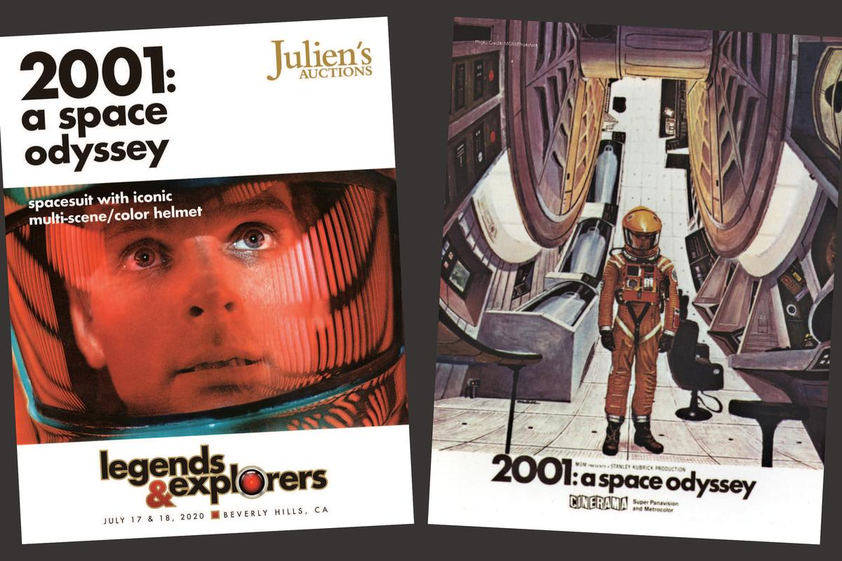 The Spacesuit from 2001: A Space Odyssey (MGM, 1968) is going to auction