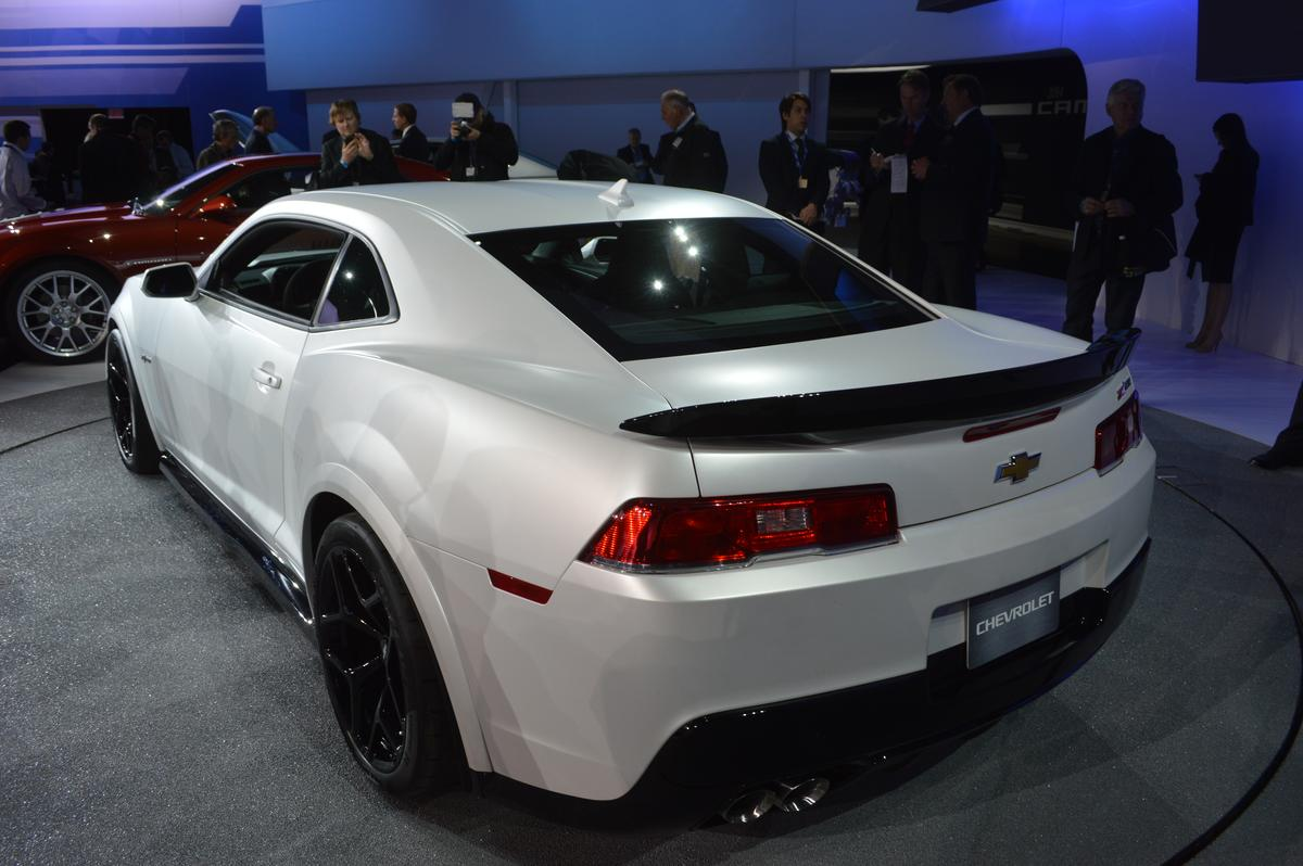 The Camaro Z/28 has a thinner rear window to save weight