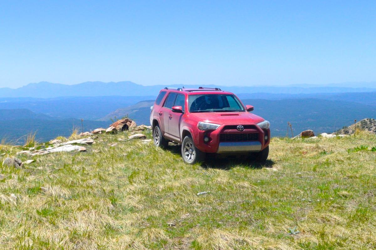 The 4Runner Trail Premium served as both our transportation and home for three days and nights