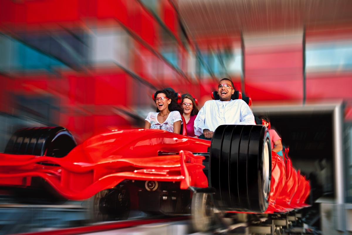 Ferrari World, Abu Dhabi, has opened (to the media) and features a 200kph-plus roller coaster